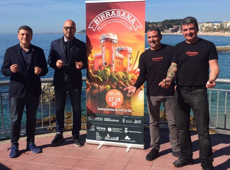 Lloret de Mar presenta la 8a edició del Birrasana, el festival de referència de cervesa artesana de la Costa Brava