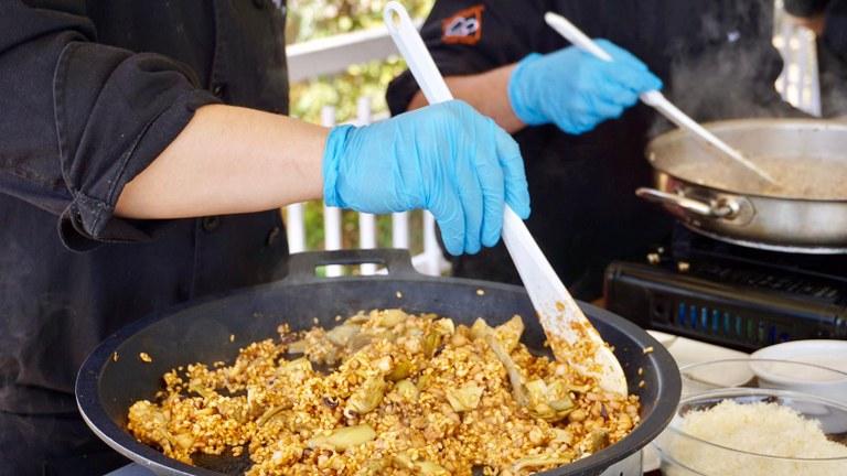 Lloret de Mar presenta les XIX Jornades Gastronòmiques de l'Arròs amb una exhibició i degustació d'arrossos