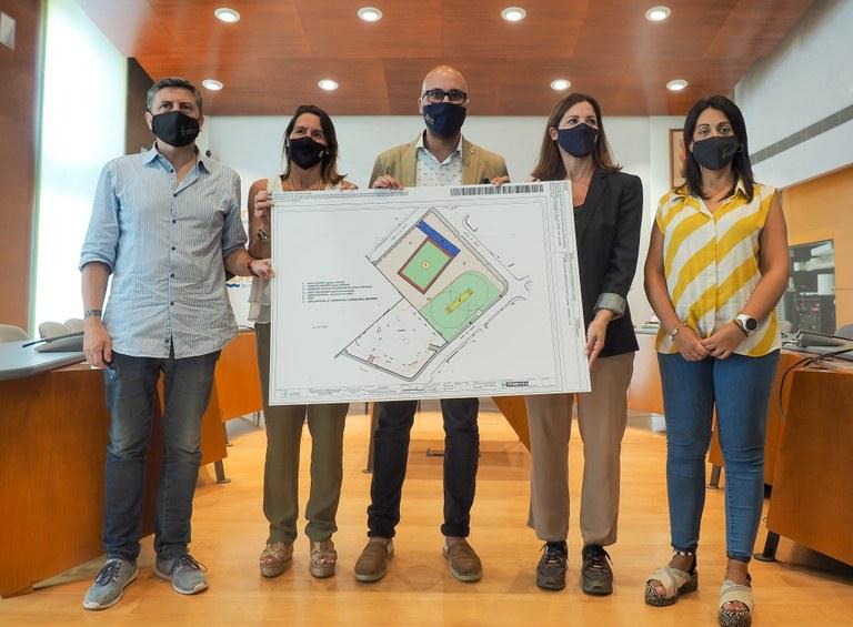 """Lloret de Mar tindrà un camp de futbol de gespa artificial amb el projecte """"Cruyff Court"""""""