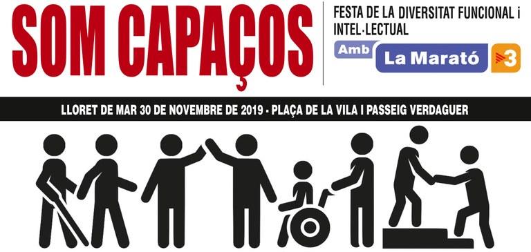 Lloret es bolca en la celebració del Dia Internacional de les Persones amb Discapacitat