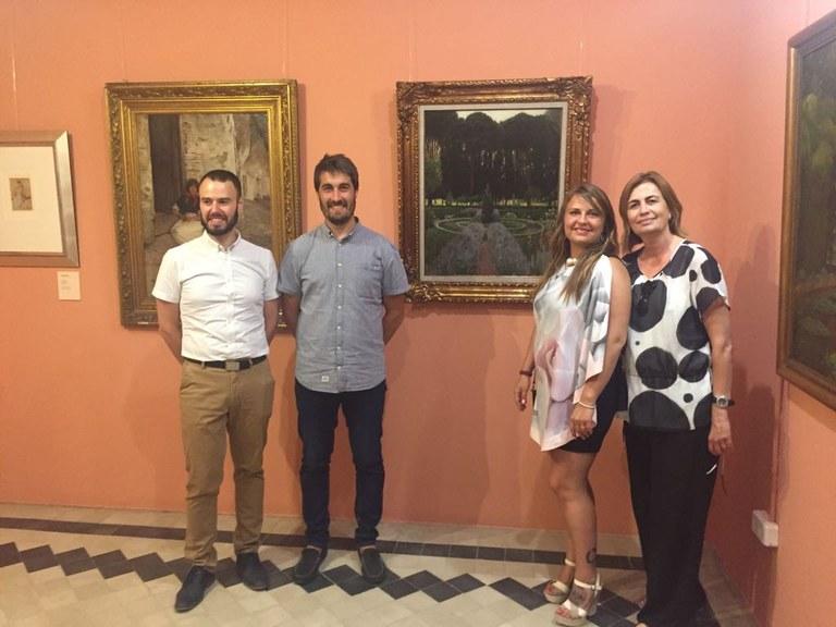 Lloret inaugura una exposició de pintura amb el fons de la col·lecció de la Galeria Elysium