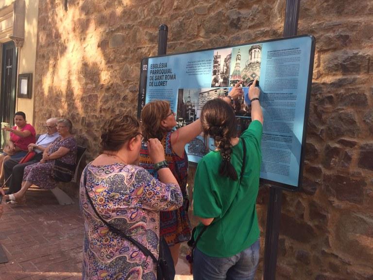 Lloret instal·la cartells informatius a diferents dels seus elements patrimonials culturals