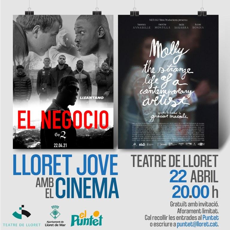 Lloret Jove amb el cinema al Teatre de Lloret
