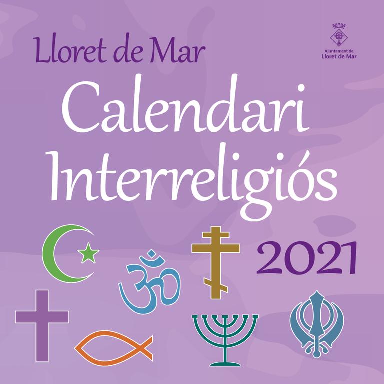 Lloret presenta el calendari interreligiós 2021