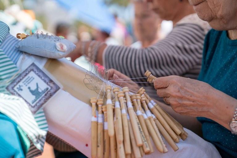 Més de 200 puntaires es concentraran a Lloret de Mar en el marc dels actes de la Diada