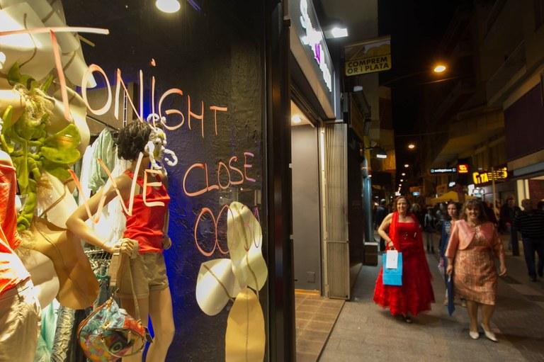 Més de 30 activitats animaran els carrers durant la Lloret Night Shopping