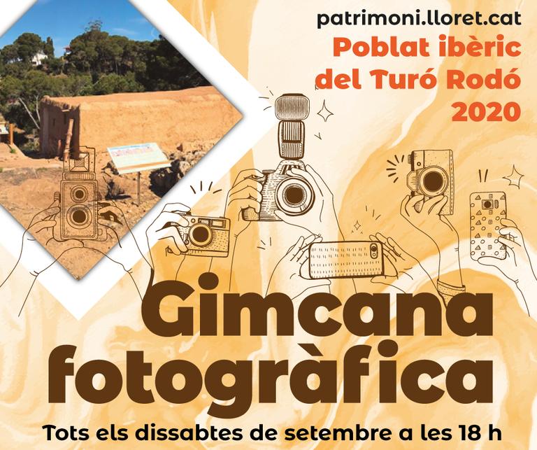 Patrimoni Cultural proposa una gimcana fotogràfica al jaciment ibèric de Turó Rodó de Lloret pensada per les famílies.