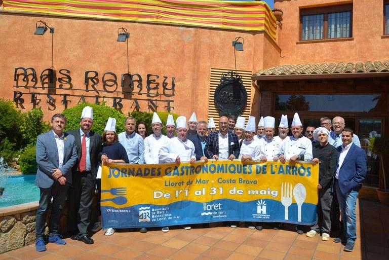 Presentació de les XVIII Jornades Gastronòmiques de l'Arròs de Lloret de Mar