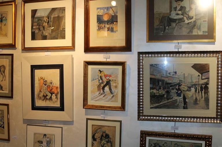 S'inaugura una galeria d'art amb obres originals d'importants artistes dels s. XIX-XX a Lloret de Mar