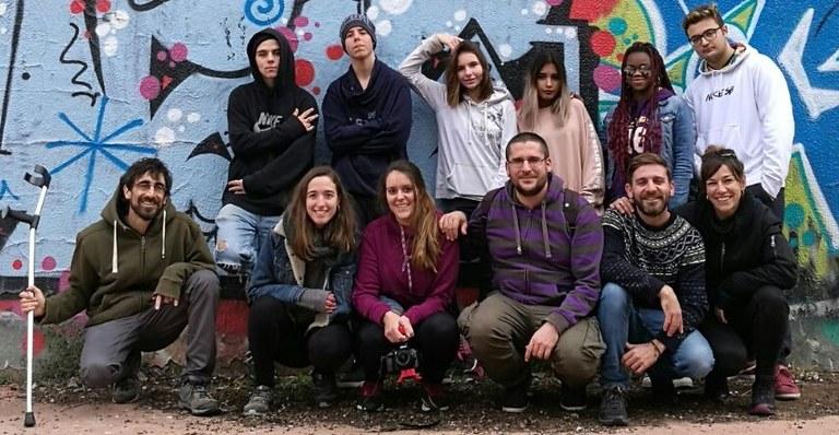 Set joves del projecte Tarda Jove de Lloret de Mar guanyen el segon premi del concurs de Hip-hop per la Pau