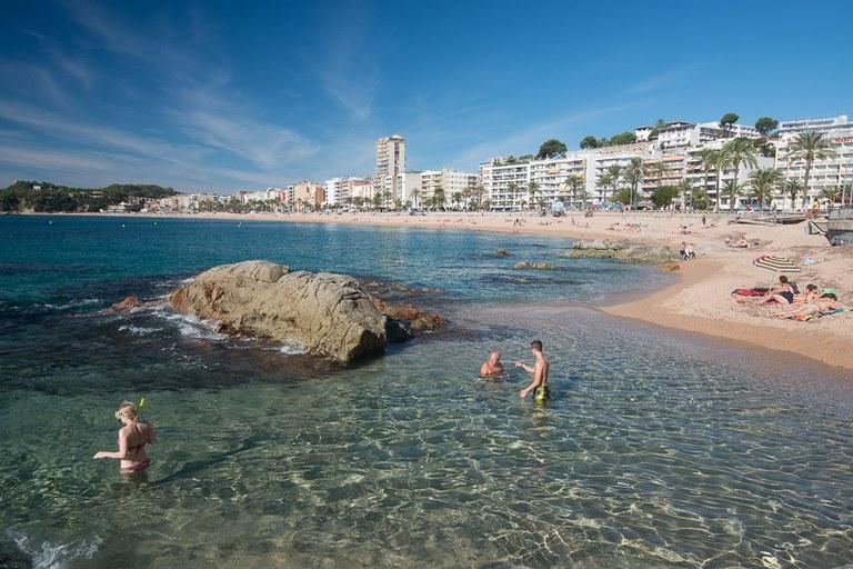 Tallers de prevenció d'ofegaments i altres riscs en l'entorn aquàtic, aquest cap de setmana a les platges de Lloret