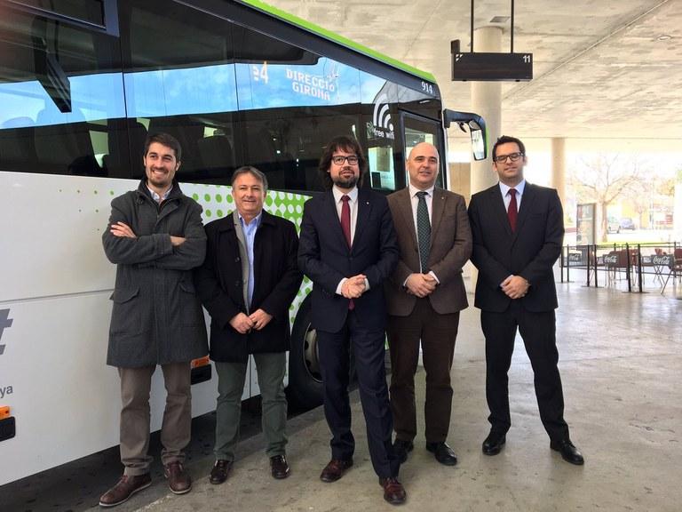 Un nou servei de bus exprés.cat connectarà Girona, Vidreres i Lloret de Mar