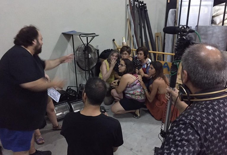 Una cinquantena de Cristines feliciten la festa major d'estiu a Lloret