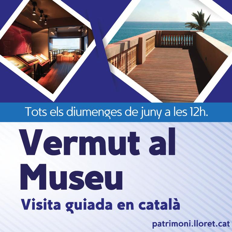 Visita guiada amb vermut pels diumenges de juny al Museu del Mar de Lloret