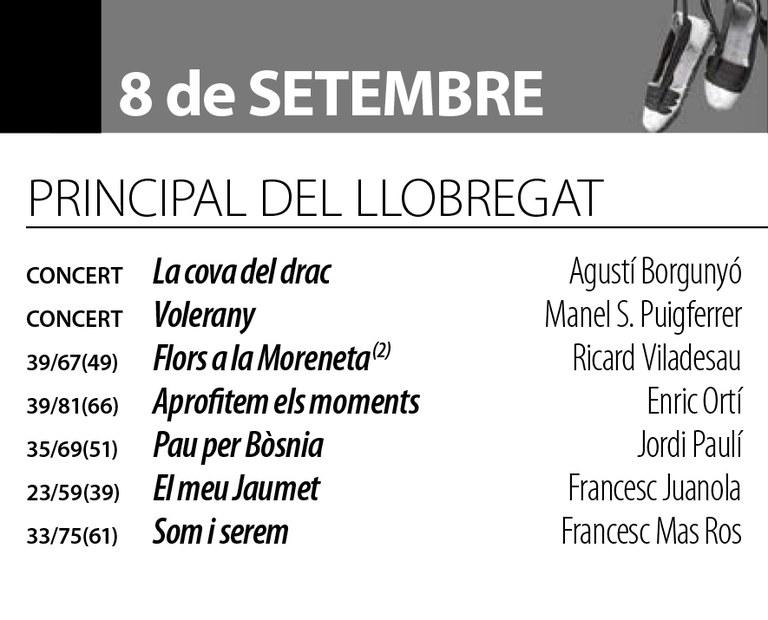 Sardanes d'estiu - Cobla La Principal del Llobregat