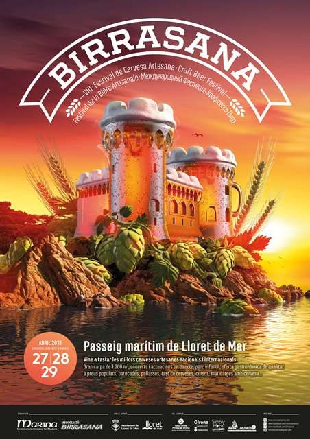 Festival de cervesa artesana Birrasana 2018