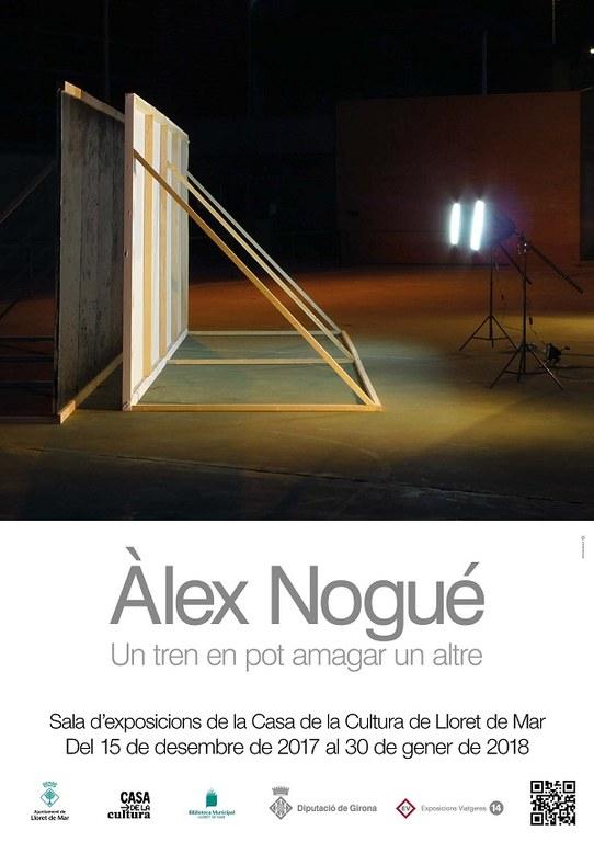 Exposició  'Un tren en pot amagar un altre'   d'Àlex Nogué