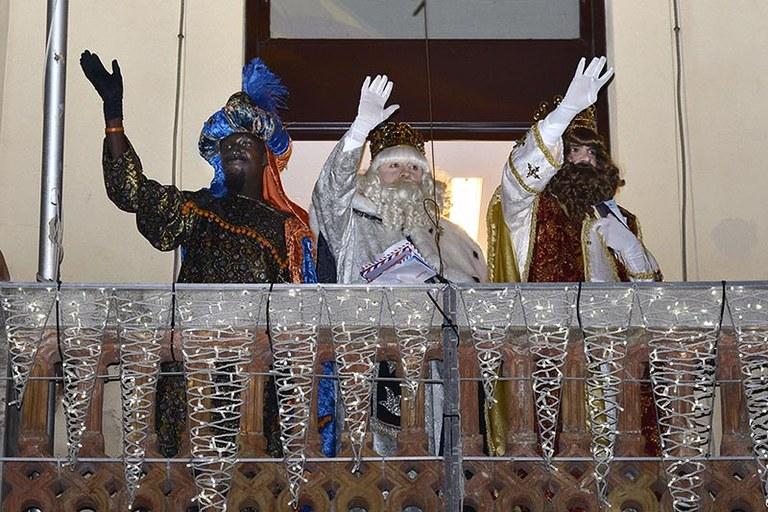 Arribada dels 3 Reis d'Orient