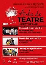 Actuacions de final de curs dels alumnes de l'Aula Municipal de Teatre de Lloret