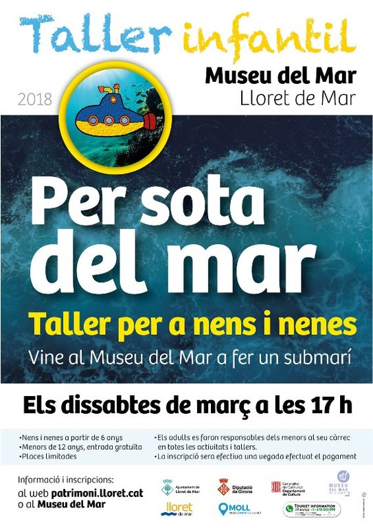 Taller infantil - Per sota del mar