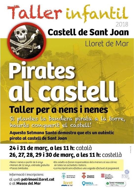 Taller infantil - Pirates al Castell