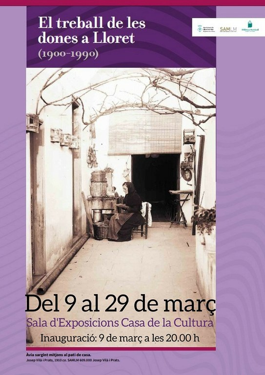 Exposició 'El treball de les dones a Lloret (1900-1990)'