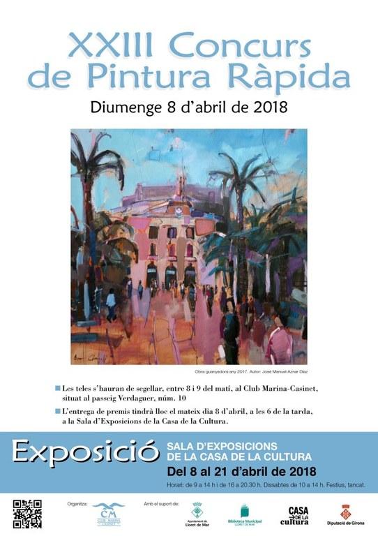 Exposició XXIII Concurs de Pintura Ràpida
