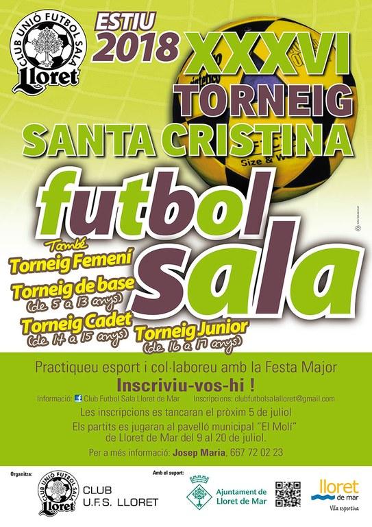 XXXVI Torneig Santa Cristina de futbol sala
