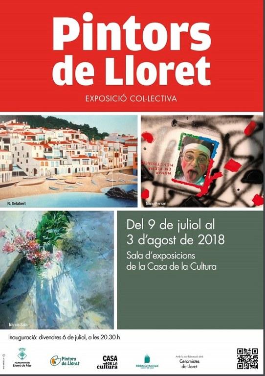Inauguració Exposició 'Pintors de Lloret'