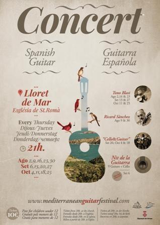 Concert de Guitarra espanyola. Ricard Sànchez