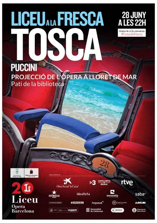 Liceu a la Fresca retransmissió en directe de l'òpera Tosca