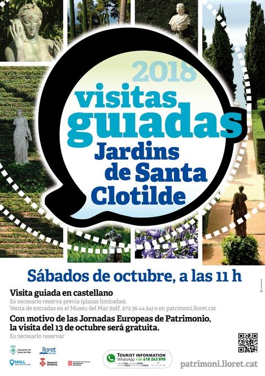 Visita guiada als Jardins de Santa Clotilde