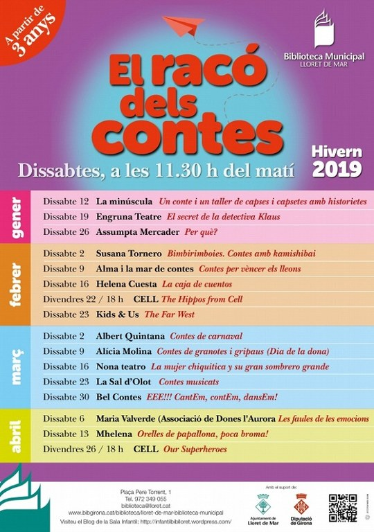 El Racó dels Contes: Conte + Taller de 'Capses i capsetes amb historietes'