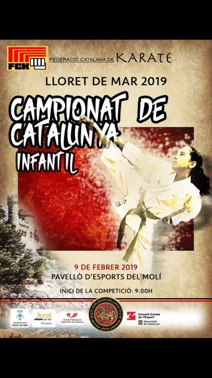 Campionat de Catalunya infantil de karate