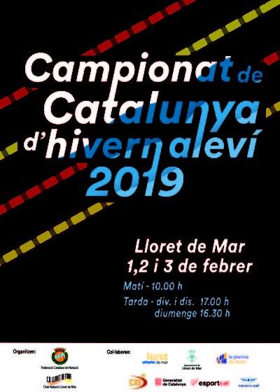 Campionat de Catalunya d'hivern aleví 2019