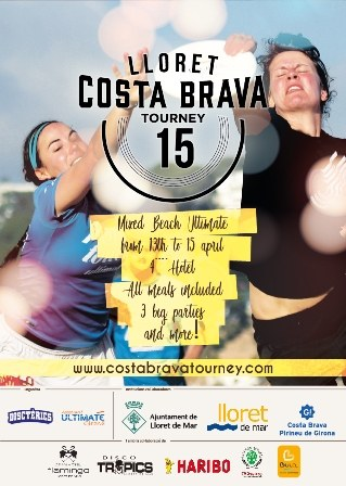 15 th Lloret  costa brava mixed beach ultimate