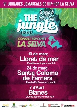 VI Jornades comarcals de Hip Hop La Selva