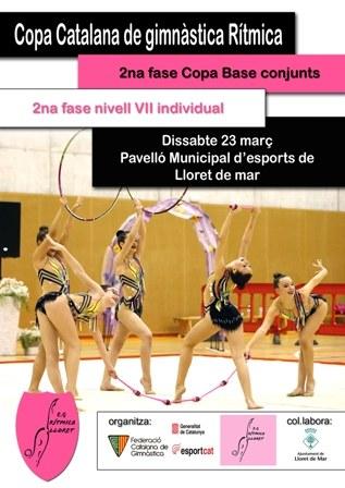 Fase copa catalana de gimnàstica rítmica