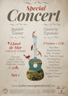 Concert guitarra llatina 'Josep Soto'