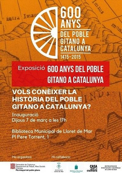 Exposició '600 anys del Poble Gitano a Catalunya'