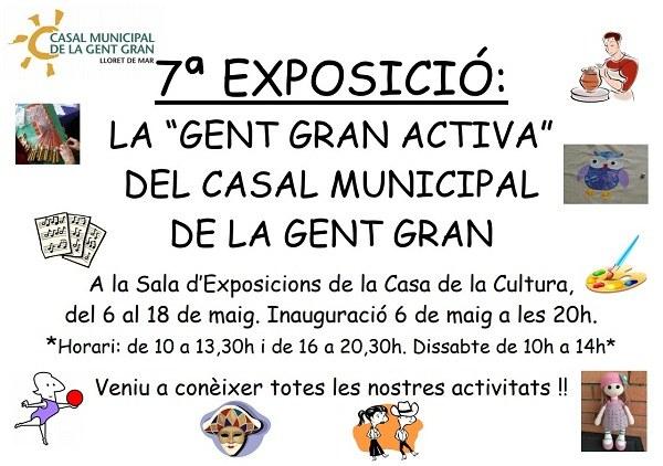 Exposició 'La Gent Gran Activa del casal municipal de la Gent Gran'