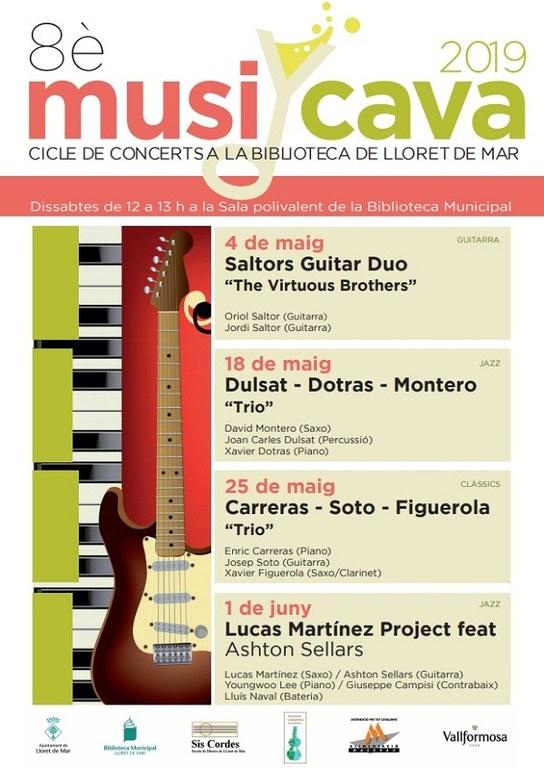 MUSI-CAVA 2019. Carreras - Soto - Figuerola