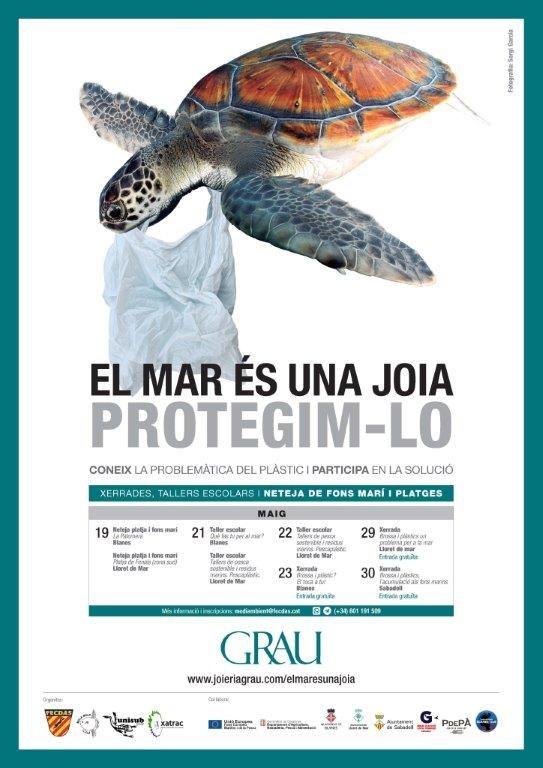 Xerrada Brossa i plàstics un problema per a la mar