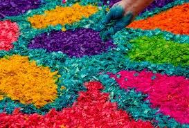 Festa de Corpus/Catifes de flors i processó