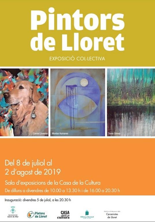 Exposició col·lectiva 'Pintors de Lloret'