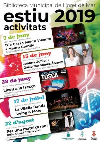 Actuació musical. La VBella Banda Swing & More