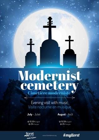 Visita guiada al cementiri amb acompanyament musical  en anglès