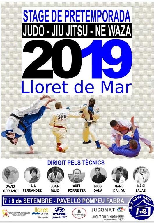 Stage de pretemporada de judo