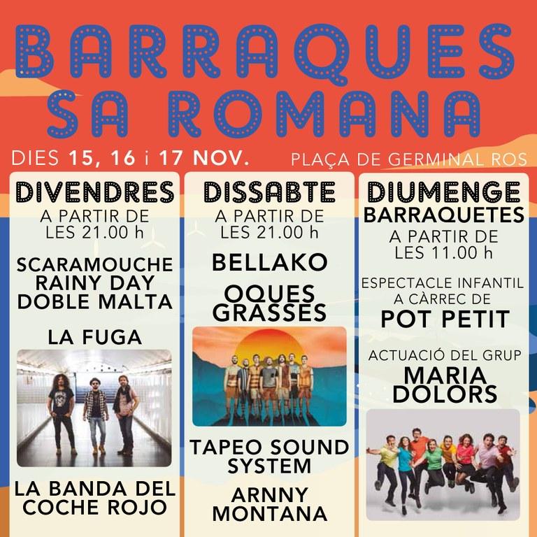Barraques Sa Romana