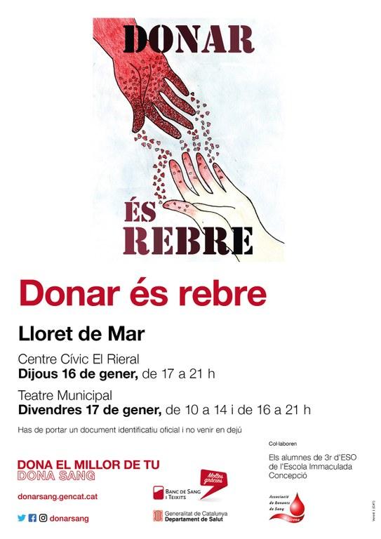 Donar és rebre - donació de sang